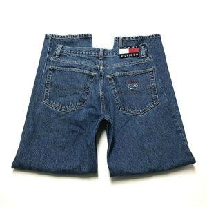 Tommy Hilfiger Denim Jeans Mens 30×30 Flag